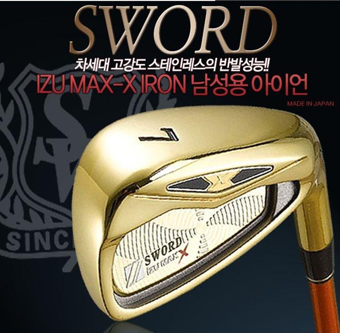 клюшка для гольфа New X R fleX fleX S #5/6/7/8/9/p/a/S KATANA SWORD IZU MAX X Iron клюшка для гольфа golf irons xxi08 4 5 6 7 8 9 p s mp 800 r flex xx10 mp800 xx10 mp800 irons