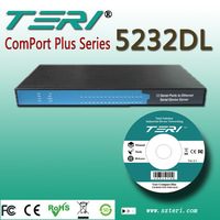 TERI 5232DL 32 Port RS-232/485/422 TO TCP/ IP  Total Solution For Industrial  Decive Netwoorking