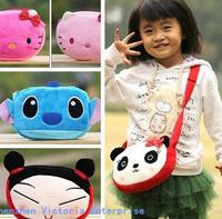 Cartoon Designs For Choice Baby KID Satchel BAG Plush Children Kid's Satchel Messenger BAG Pack Outdoor Shoulder Pouch