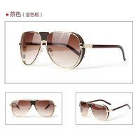 Free Shipping New 2014 Men Vintage Glasses Fashion Steampunk Sunglasses Oculos Para Cidismo Men Sunglasses Brand Designer