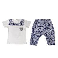 2014 Chinese Style Kids Clothes Baby Boy Summer Chinese Painting Clothing Sets,Tshirts + Harem Shorts K6569