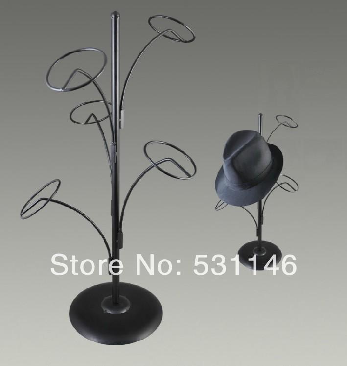 New arrival design Metal Hat Display Stand/Hanging hat rack holder(China (Mainland))