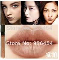 2014 New Arrival Waterproof Milik Chocolate Color Lipstick matte smooth liquid velvet lipgloss Long Lasting Lip Makeup