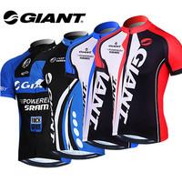 New Women Men Ropa Ciclismo Bicycle Sportswear Mountain Bike MTB Clothing Tour de France GIANT Cycling Jersey Jacket 2014