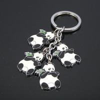 Free shipping 123771 China's national treasure panda series of buckle keychains Christmas