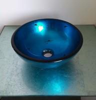 Tempered glass basin glass basin wash basin diameter 31 small round