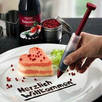 1PCS Cake Biscuit Cookie Pastry Icing Decoration Syringe Chocolate Plate Pen Tool New 870048