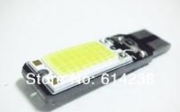 2x 10W T10 COB LED White  Car Light Canbus Error DC12V Parking Backup Reverse For Brake Lamp Epistar chip