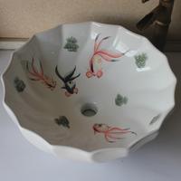 Fine ceramics basin art wash basin bathroom counter basin wash basin full