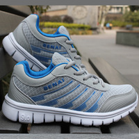 Summer breathable shoes network running shoes male gauze running shoes sport shoes