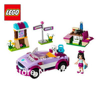Free Shipping NEW Original educational brand lego Blocks toys 41013 friends series Emmas Sports Car 159PCS for  Gift