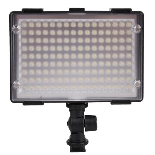 Professional DOF 200 LED Video Light Wedding Photography Lights News Lamp Camera Fill Light Outdoor Photo Light C200(China (Mainland))