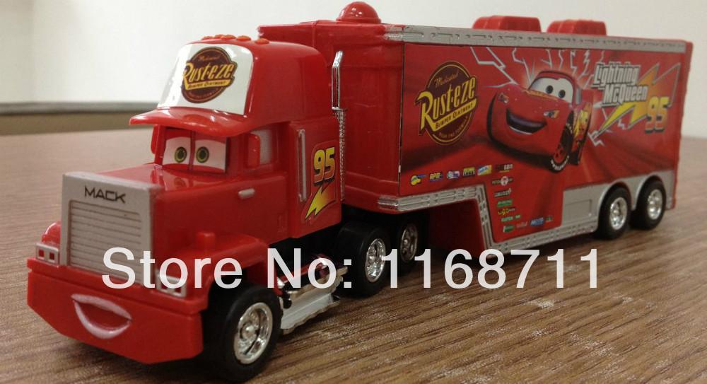 Free Shipping trucks Pixar Cars,plastic Mack(China (Mainland))