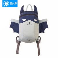 Mr.p 2014 kindergarten school bag child school bag lightening bb bag baby small backpack