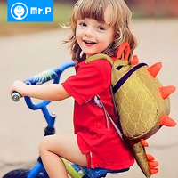 Kindergarten school bag mr.p small bag baby backpack female male backpack child school bag
