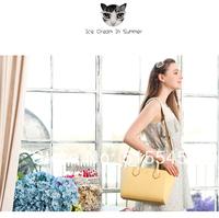 Womens handbag the trend of casual shoulder bag candy color messenger bag