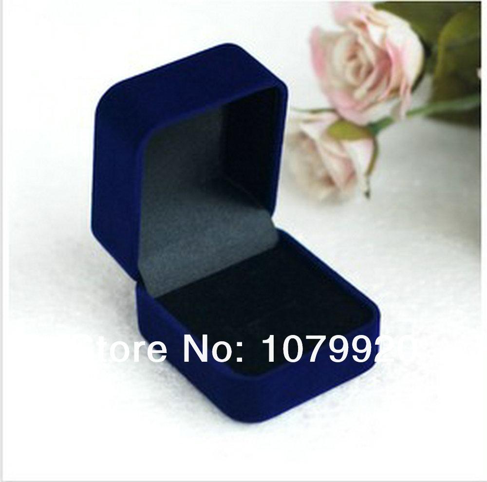 Box necklace box velvet jewelry box gift box wholesale for jewelry