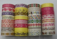 30 Pcs/Lot  High Quality Washi Masking Tape  DIY Adhesive Tape  Decoration Sticker Label  Wholesale
