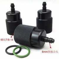 Joint 8 mm quick pick up 30 mpa pump compression male head turns small inflatable joint cylinders Airforce condor Pcp AFC