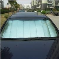 Car sunscreen sun-shading stoopable vehienlar thickening sun block summer aluminum foil reflective curtain