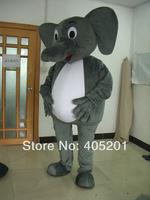 POLYFOAM high quality cartoon mascot costume hot sale elephant mascot costumes baby elephant costumes animal costumes