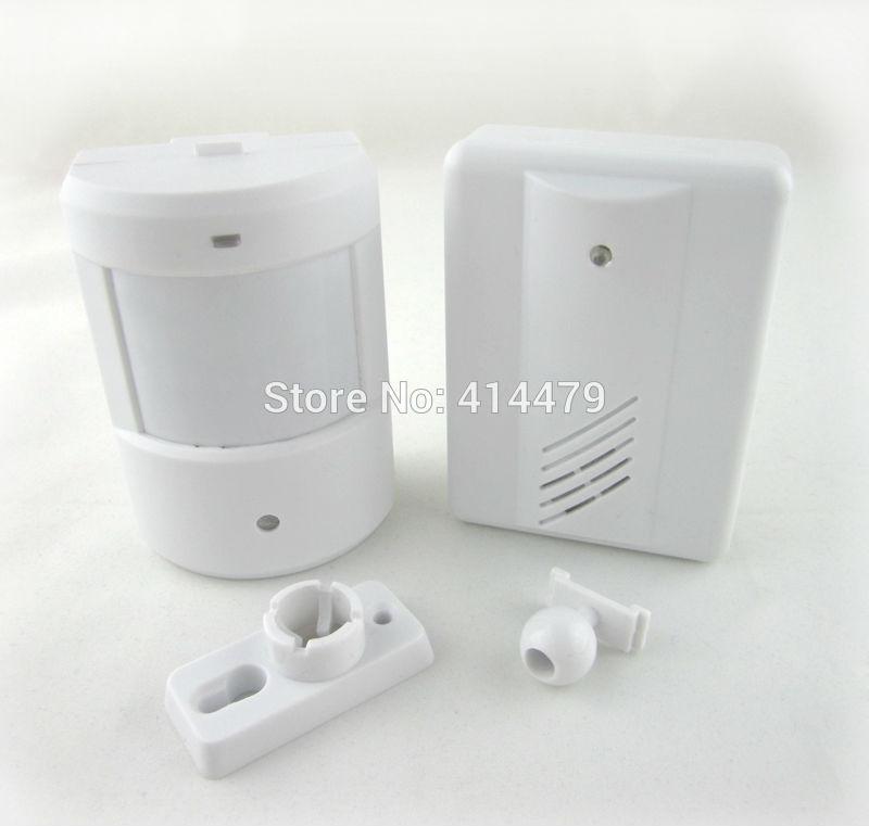 Wireless Driveway Garage Infrared Alert Secure System Motion Sensor Alarm Patrol doorbell Wireless Detector(China (Mainland))