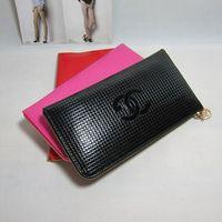 2014 fashion wallet japanned leather zipper plaid long design women's wallet day clutch mobile phone bag