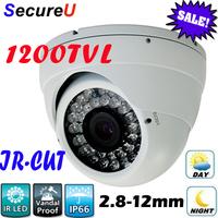 Free shipping sale 1200TVL high definition hd cctv security camera surveillance digital video thermal cctv equipment with IR Cut