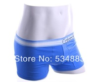 100% New high quality M/L/XL 4 colors trunk shorts men underwear men boxers