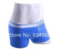 100% New high quality M/L/XL 4 colors trunk shorts men underwear men boxers