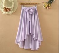 2014 summer skirt bohemian beach skirt chiffon skirts irregular skirt big pendulum
