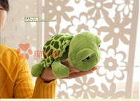 stuffed animal cute tortoise plush toy 25cm green turtle with big eyes doll about 9 inch toy  p0081