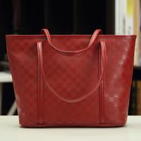 Fashion vintage 2014 candy color big bag fashion women's portable shoulder bag handbag bag
