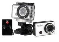 Gopro Hero3 Style Extreme Action Sport Camera, with Wifi Support Control by Phone/Tablet,1080P Full HD, IR Remote Control