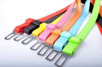 100Pcs/Lot Wholesale Adjustable Car Vehicle Polyester Seat Dog Safety Belt Dog Pet Cat Seatbelt Free Shipping