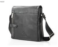 Feigeer Messenger Shoulder Bags Men Black Brown PU Leather Bags Man Quality Fashion Zipper Vintage