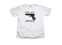 2014 New Kill all artist vintage street HARAJUKU shirt tee t-shirt silk screen printing
