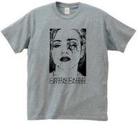 2014 New Crystal crystal castles t shirt tee t-shirt band screen printing