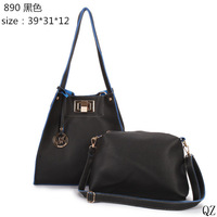 2014 new fashion bag female models HL collapse of a hand bag PU bag
