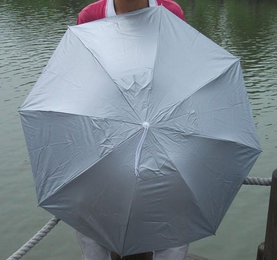 Hot-selling ! umbrella cap fishing sunscreen headband hat wearing fishing Large cap(China (Mainland))