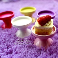 10pcs/lot 5-color iron cupcake mini cake pan