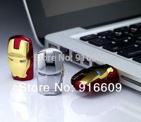 X006 Wholesale Cool Avengers Iron Man Ironman  4GB-32GB USB 2.0 Flash Drive Memory stick Pen