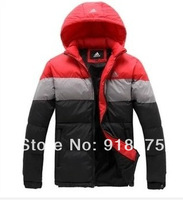 men down coat Men's coat Winter overcoat Outwear Winter jacket hooded thick fur jackets outdoor Free shipping