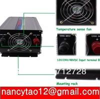 8000W Watts Peak 4000W (real 4000w) Modified Sine Wave Power Inverter 12V DC to 220V AC