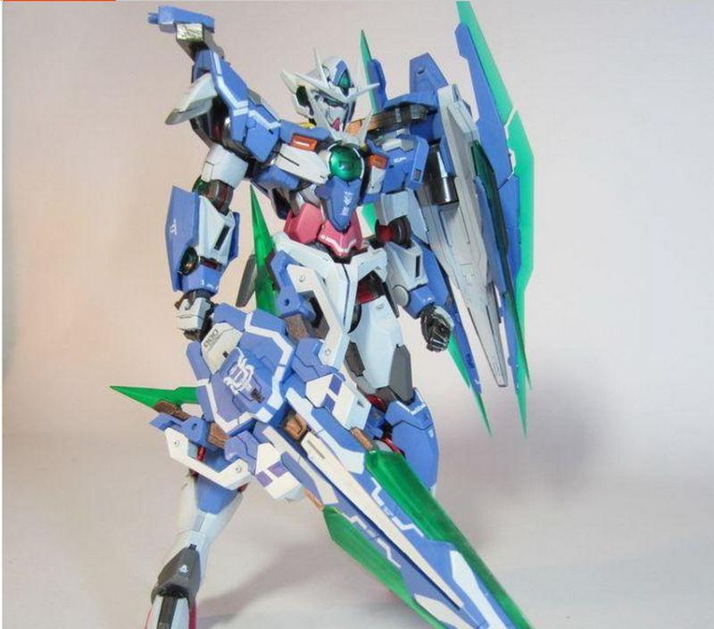 BTF GN Sword IV 00Q Full Saber Detail Up Parts For 1 100 MG 00 QAN ...