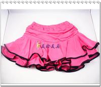 Adult Latin dance skirt Latin dance skirt dance skirt rose black