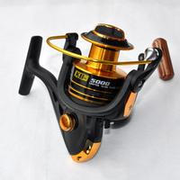 German Technology 12BB Metal Spinning Fishing Reel 5000 Series For Shimano Feeder Fishing Free Shipping