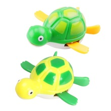 New Wind up Tortoise Bath Diver Toy Swimming Tortoise Baby Kids Bath Toys ES88(China (Mainland))
