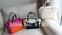 MG905 K Beautiful patchwork bow genuine leather 100% handbag wholesale drop shipping free shipping