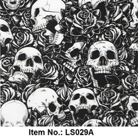 Skull Pattern No. LS029A Water Transfer Printing Film